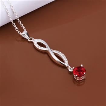hot wholesale 925 silver fashion jewelry 2014 Twisted Line Bracelet women Necklace fashion